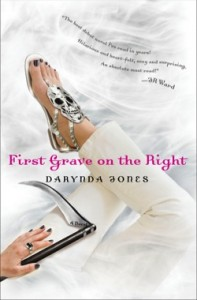 Post thumbnail of Advent Calendar Day 9: First Grave on the Right by Darynda Jones + Giveaway