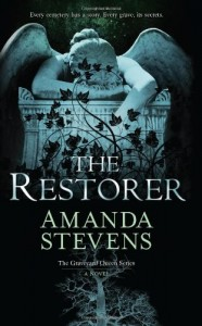 Post Thumbnail of Advent Calendar Day 23: The Restorer by Amanda Stevens + Giveaway