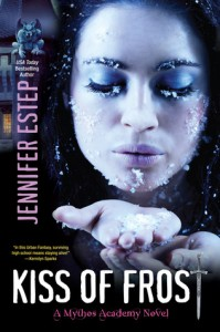Post thumbnail of Review: Kiss of Frost by Jennifer Estep
