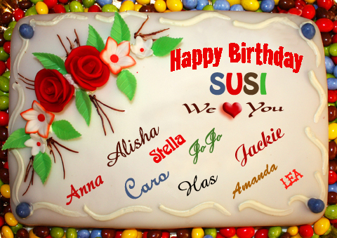 Post Thumbnail of HAPPY BIRTHDAY to Susi Sunshine a.k.a OUR GEEKY LOVER!