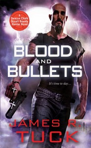 Post Thumbnail of Dual Review: Blood and Bullets by James R. Tuck