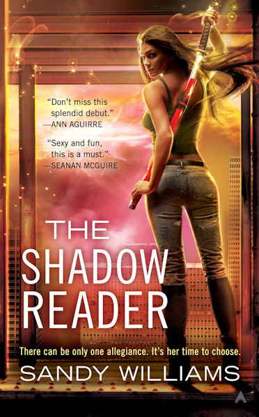 Post thumbnail of Review: The Shadow Reader by Sandy Williams