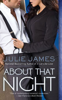 Post Thumbnail of Early Review: About That Night by Julie James