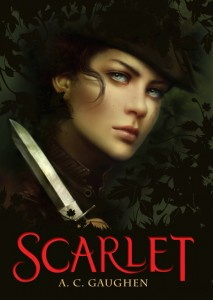 Post Thumbnail of Review: Scarlet by A.C. Gaughen