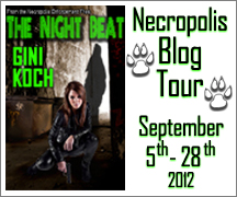 Post thumbnail of The Night Beat Blog Tour with Gini Koch + Giveaway