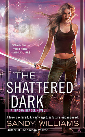Post Thumbnail of ARC Review: The Shattered Dark by Sandy Williams