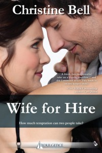 Review: Wife for Hire by Christine Bell