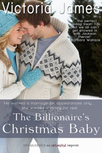 Post thumbnail of Review: The Billionaire's Christmas Baby by Victoria James