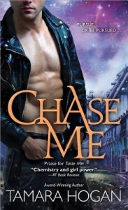Post Thumbnail of Review: Chase Me by Tamara Hogan