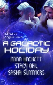 Review: A Galactic Holiday by Anna Hackett, Stacy Gail and Sasha Summers