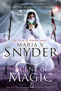Post Thumbnail of Review: Scent of Magic by Maria V. Snyder