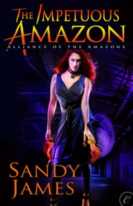 Post thumbnail of Review: The Impetuous Amazon by Sandy James + Giveaway