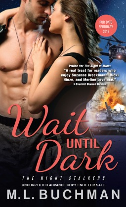 Post Thumbnail of Review: Wait Until Dark by M.L. Buchman