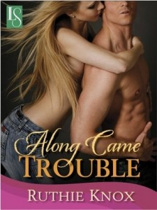 Post Thumbnail of ARC Review: Along Came Trouble by Ruthie Knox
