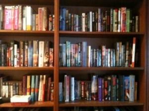 hall shelves