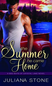Post Thumbnail of Review: The Summer He Came Home by Juliana Stone
