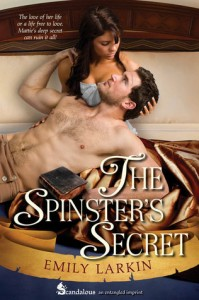 Post Thumbnail of Review: The Spinster's Secret by Emily Larkin