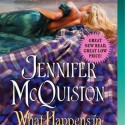 Post Thumbnail of Review: What Happens in Scotland by Jennifer McQuiston