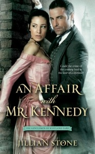 Post Thumbnail of Review: An Affair with Mr. Kennedy by Jillian Stone