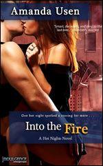 Into the Fire by Amanda Usen Original Cover