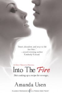 Into the Fire by Amanda Usen new cover