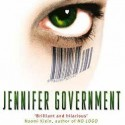 Post Thumbnail of Review: Jennifer Government by Max Barry