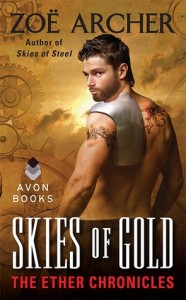 Post Thumbnail of Review: Skies of Gold by Zoe Archer